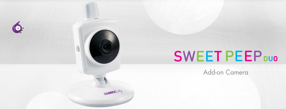 Sweet Peep duo Video Baby Monitor Add-on Camera