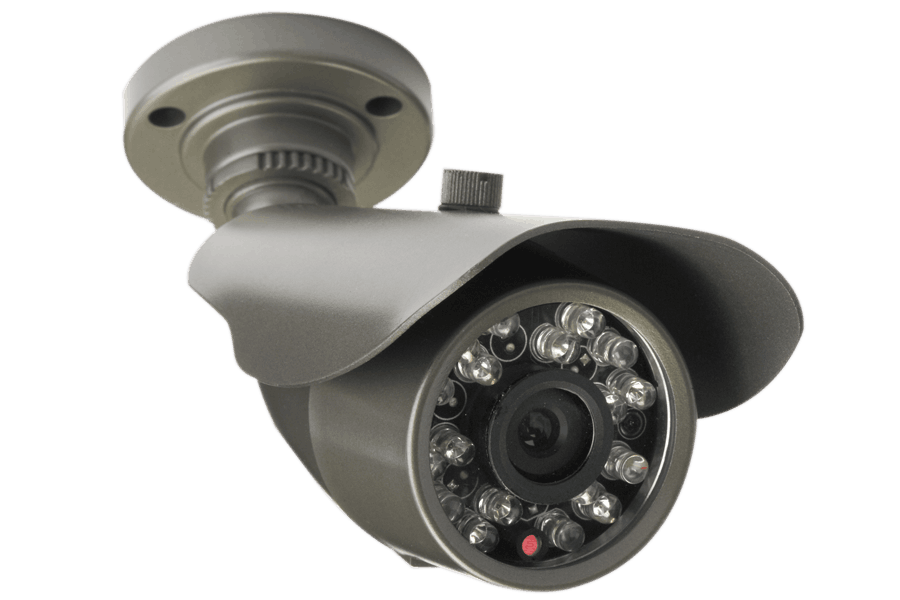 Outdoor security camera with night vision