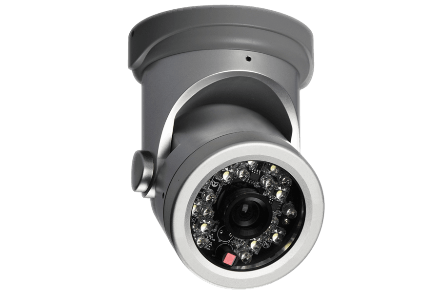 Security Camera With Motion Sensing