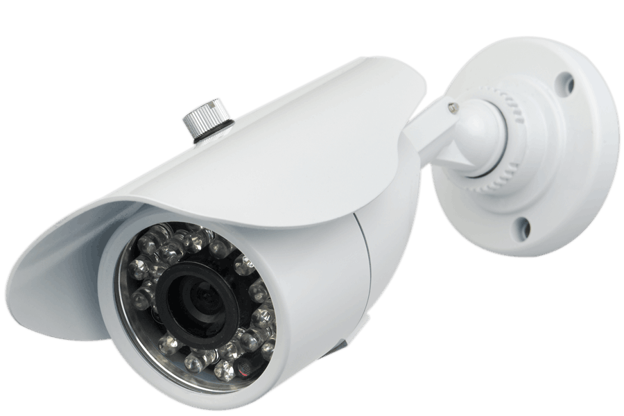 Video security camera weatherproof with 60FT night vision