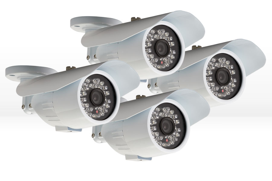 Night vision cameras (4-pack)