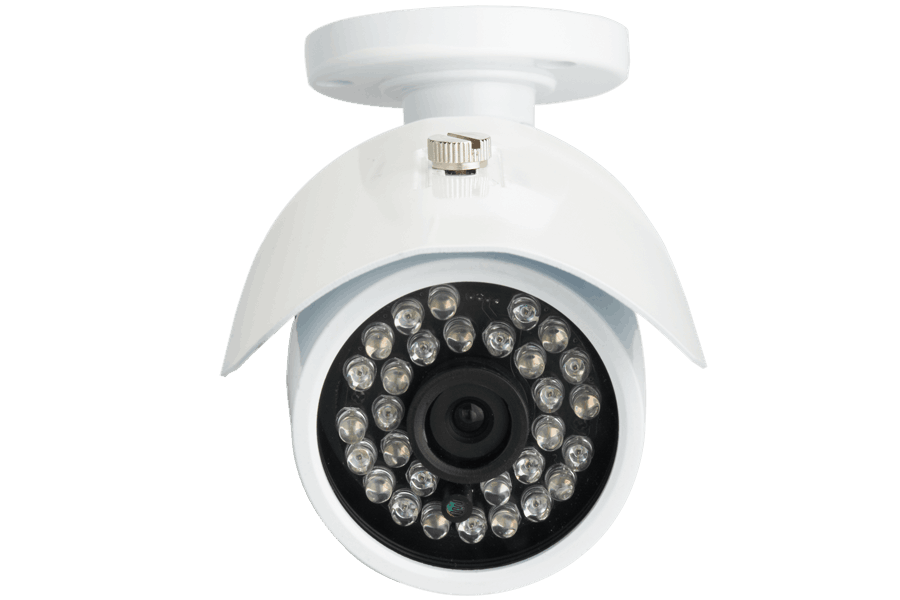 Outdoor security camera with 100FT night vision