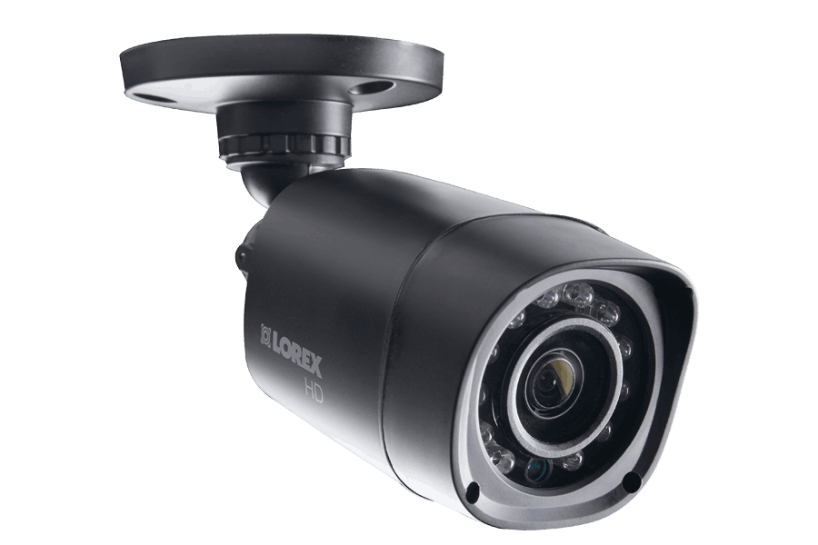 720P HD Weatherproof Security Camera with Long-Range IR Night Vision