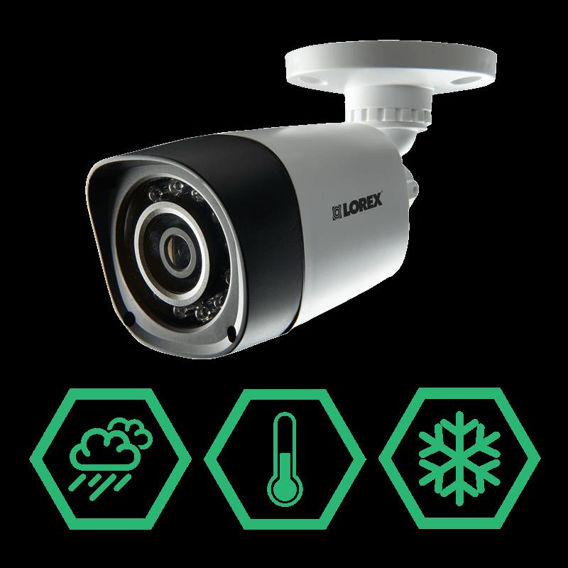 Durable IP66 Weatherproof security cameras