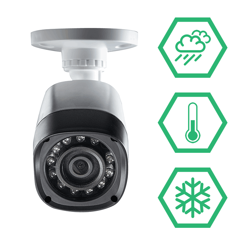 LBV2521 weatherproof bullet security cameras