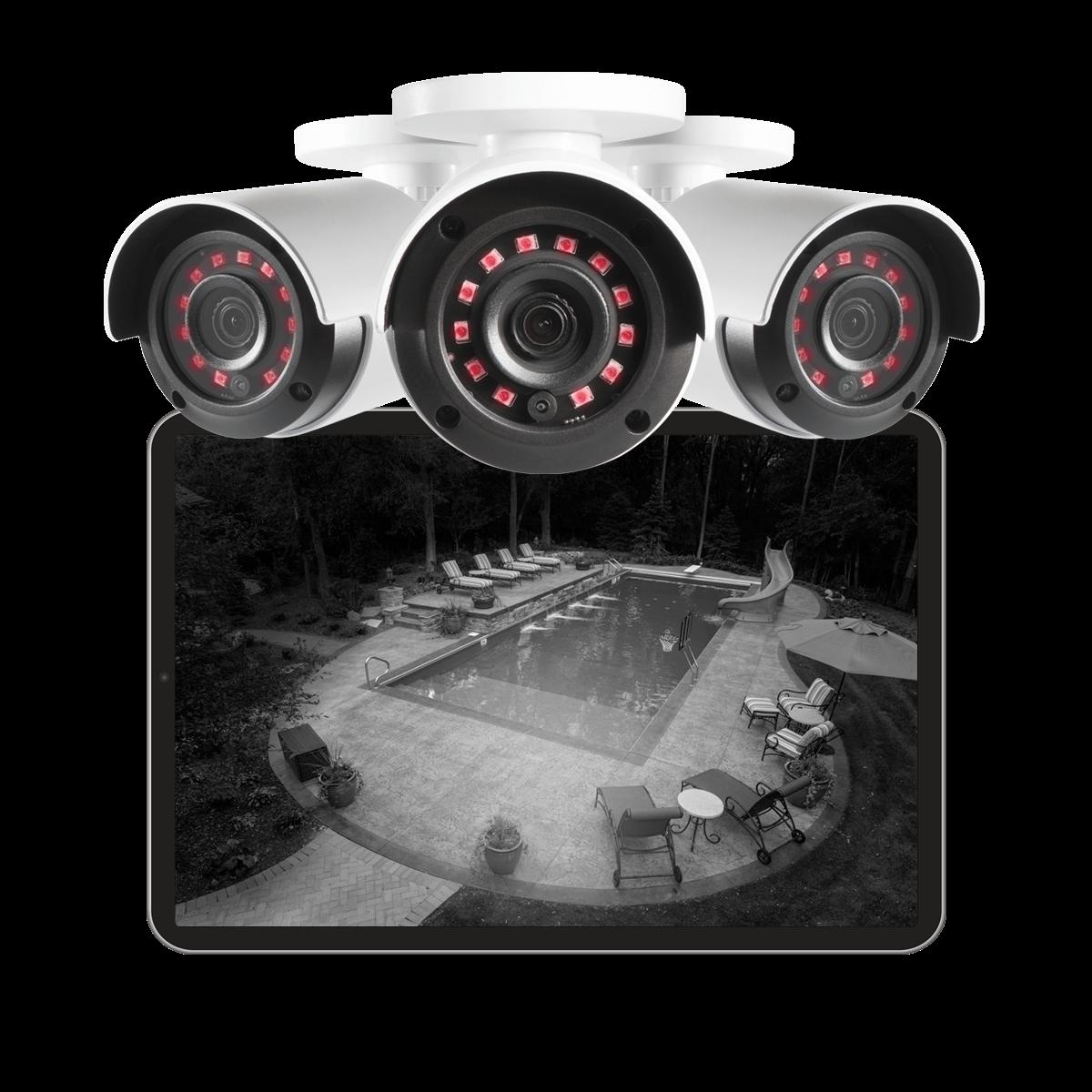 night vision HD security camera