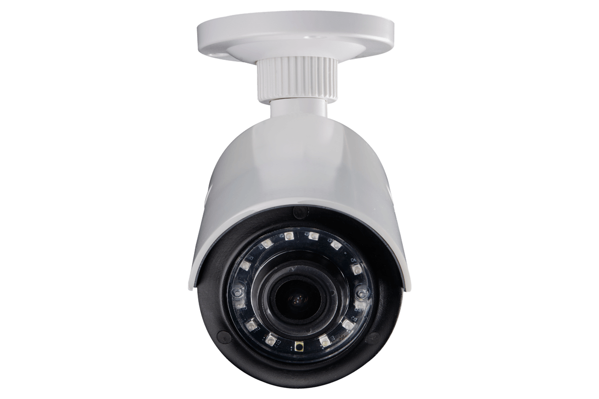 HD Home security monitoring in 1080p resolution
