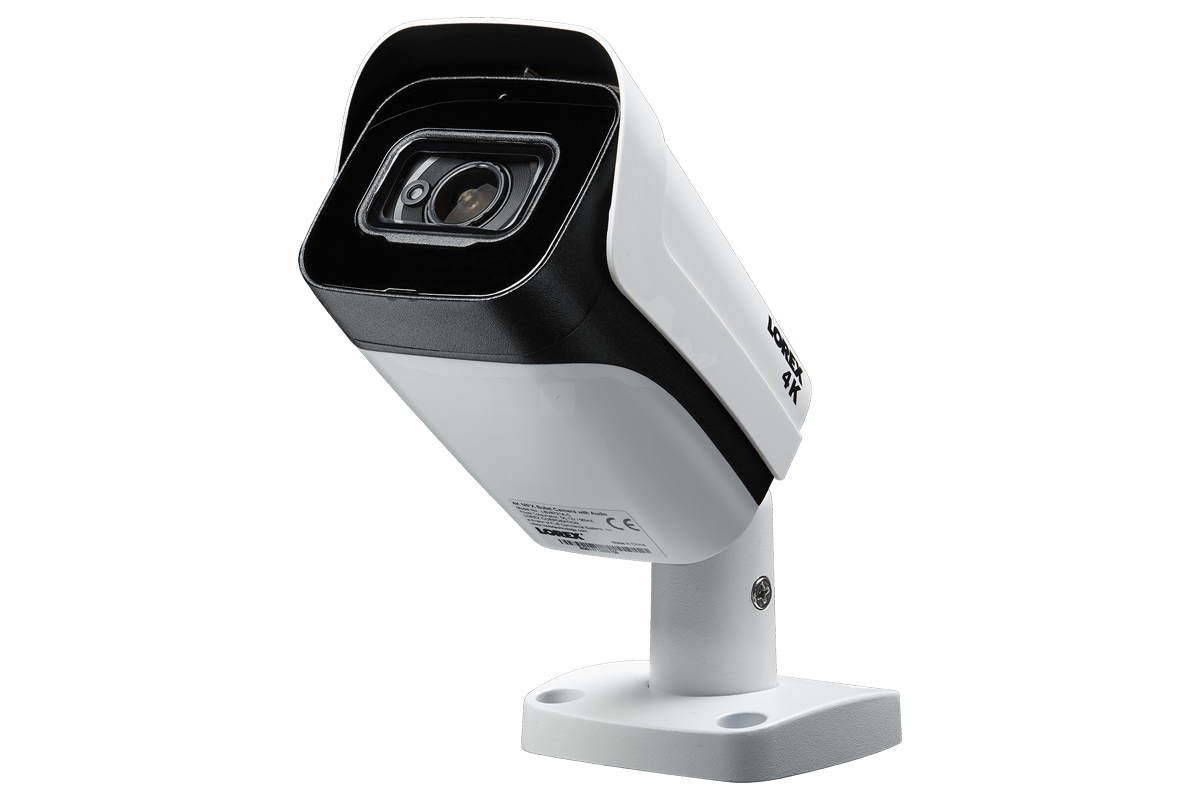 LOREX LBV8721AB MP 4K 8MP Ultra HD Metal Security Camera with Audio 150ft Color
