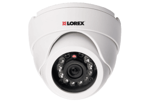 Super resolution Indoor night vision dome security camera