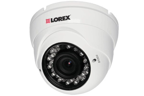 Outdoor security camera dome  varifocal lens with 600TVL