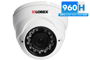 960H dome security camera with night vision