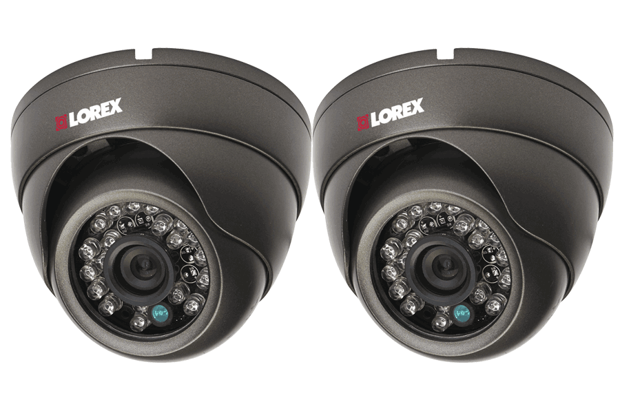 Out door security camera dome with 155FT night vision - 2 Pack