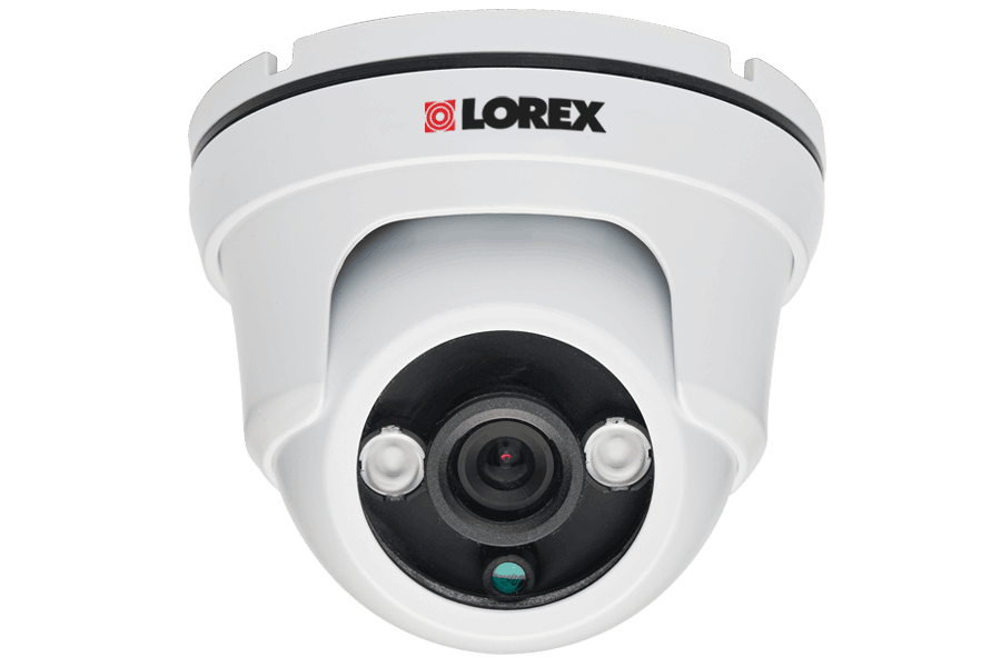 Outdoor security camera dome