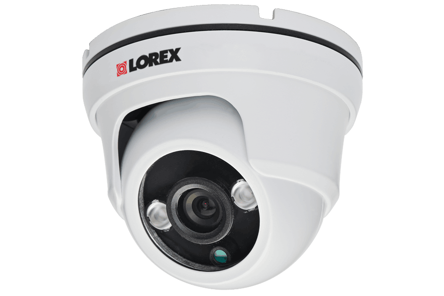 960H weatherproof dome security camera with night vision