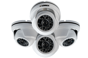 900TVL Weatherproof Night Vision Dome Security Cameras