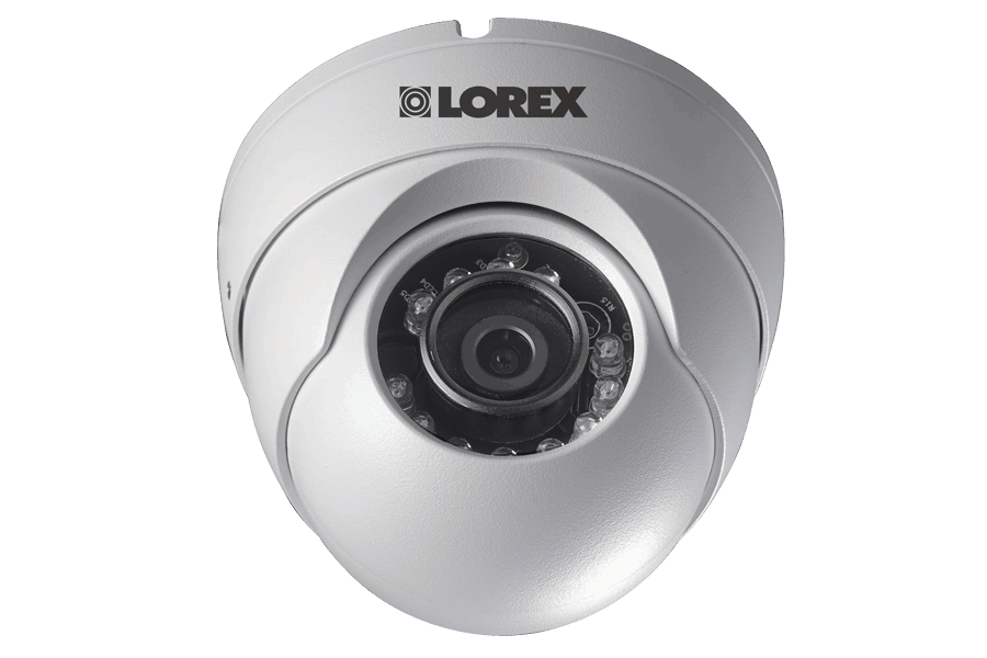 720P HD Weatherproof Night Vision Security Dome Camera