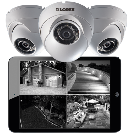 LEV2522B HD night vision dome security cameras