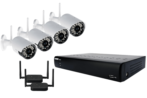 Wireless security camera system ECO BlackBox series