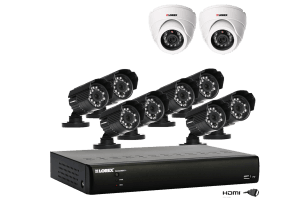 ECO BlackBox+ Surveillance DVR system with outdoor cameras