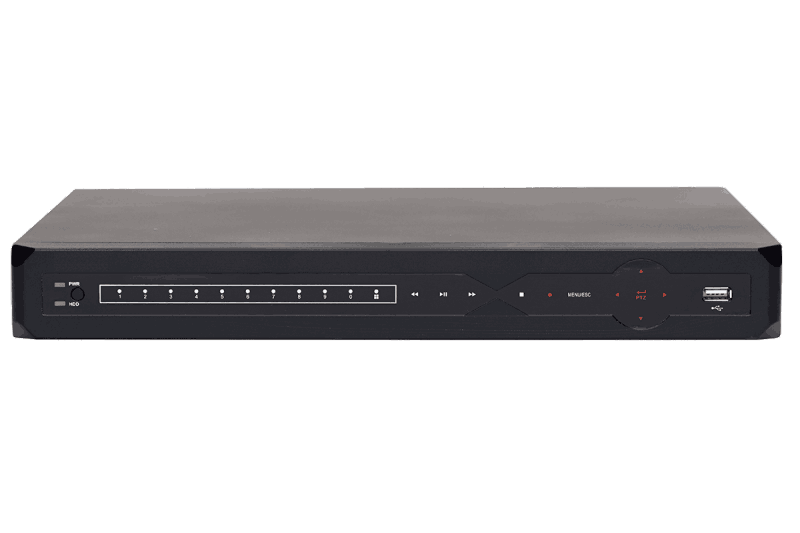 4-Channel Security DVR with Internet Remote Viewing