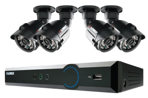 LH030 ECO Blackbox 3 Series 4-Channel Security Camera System