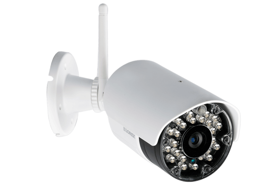 Security Camera System and 4 Weatherproof Wireless Cameras with ...