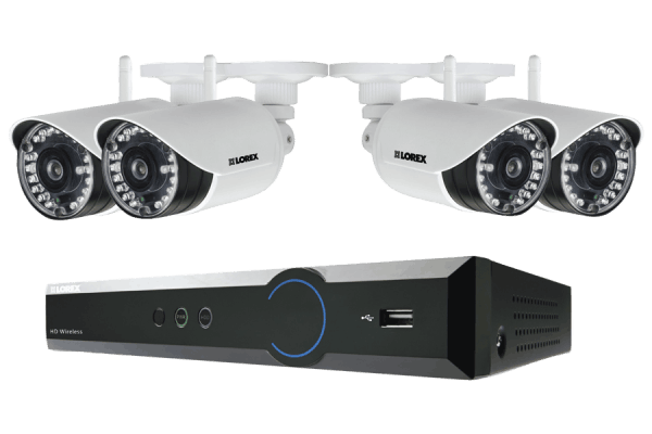HD Wireless Video Security System with 720p Video and FLIR Secure Connectivity
