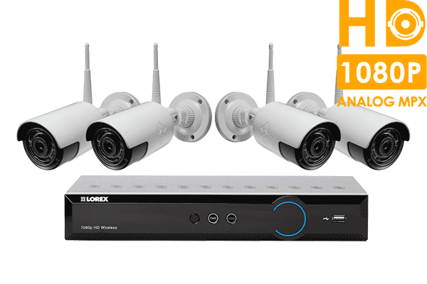 Wireless Wideo Security Camera System with 4 HD 1080p Cameras and ...