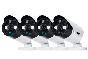 Security DVR system with 8 night security cameras with iPhone, android app