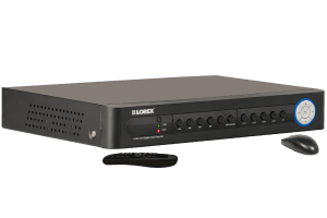 4 channel security DVR with internet remote viewing