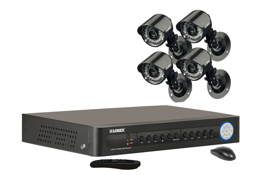 security cameras and dvr system eco 4 channel series lorex rh lorextechnology com Lorex 16 Channel DVR Eco 140 Lorex 16 Channel DVR Eco 140