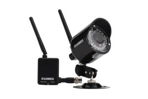 Complete security camera surveillance system with outdoor surveillance cameras
