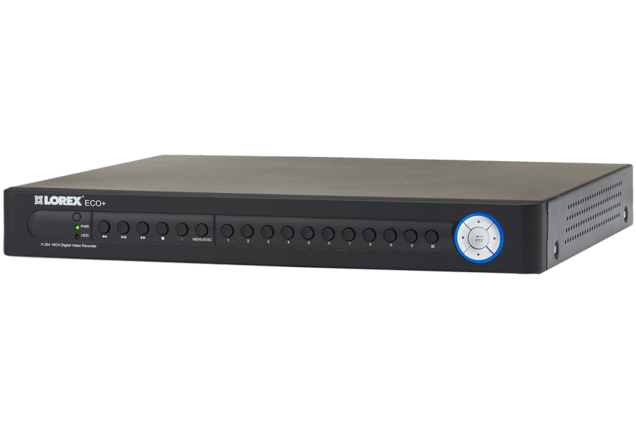 16 channel security dvr with 500GB hard drive, remote viewing