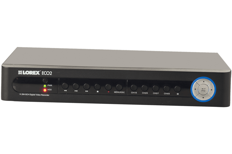 ECO2 series stand alone security DVR | Lorex