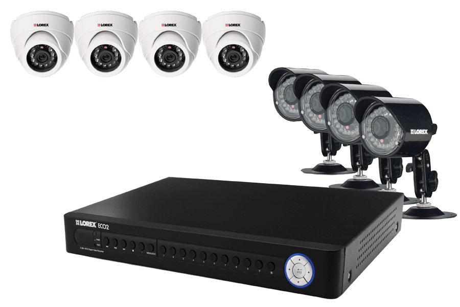 security dvr system with outside security cameras eco2 8 channel rh lorextechnology com Lorex App Windows Lorex App Windows
