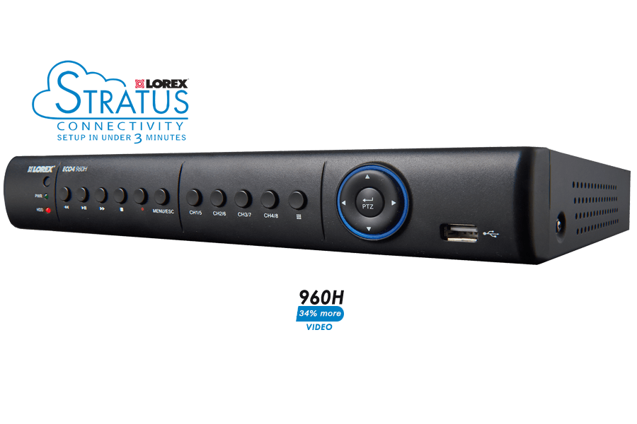 8 channel digital video security recorder