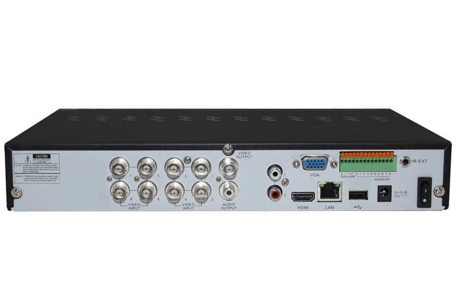 ECO4 Series Security DVR with 960H Recording and Stratus Connectivity