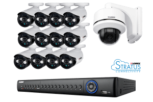 ECO4 16 Channel Series security DVR with 960H cameras