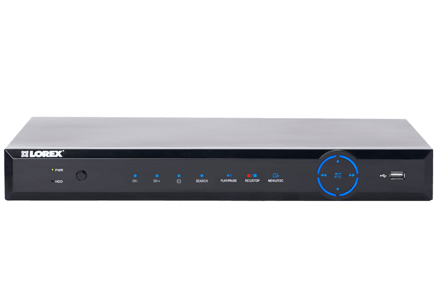 ECO6 Series Real-time Security DVR with 960H Recording and Stratus Connectivity