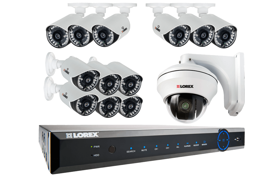 ECO6 16-Channel Real-time Security DVR with 960H Security Cameras ...