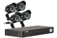 Security cameras with DVR system ECO 8 channel series