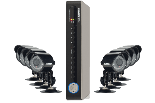 Security camera DVR system ECO2 series 8 channel