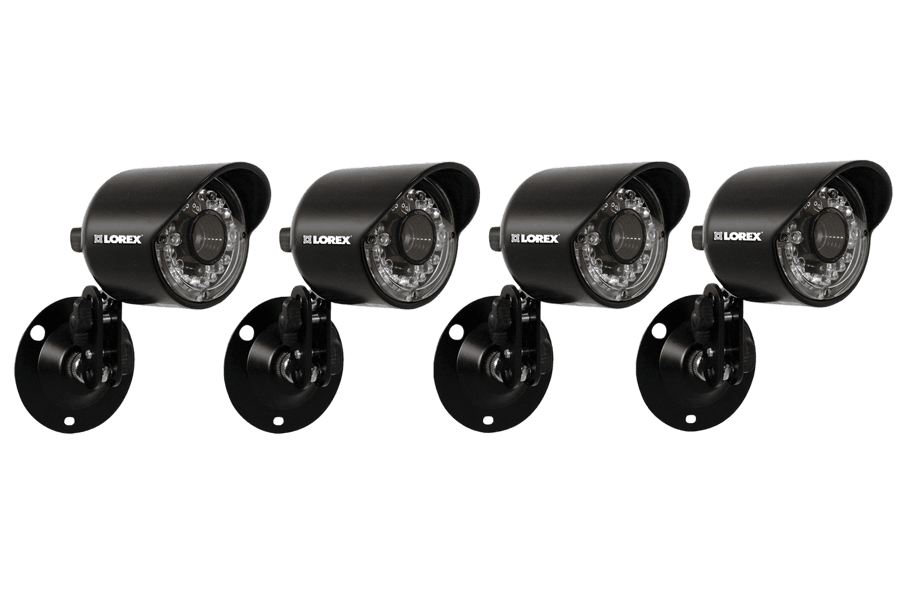 Security cameras DVR system with 4 outdoor Night vision cameras