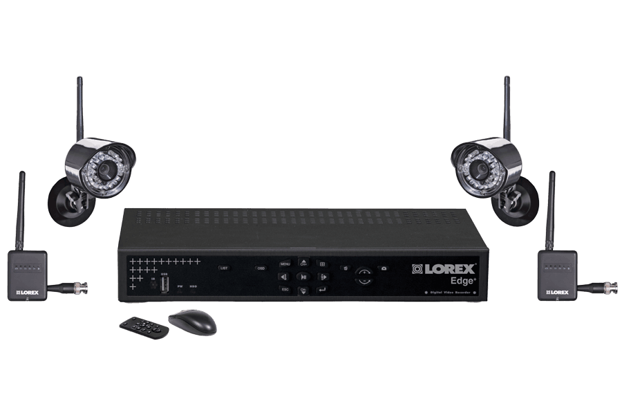 Wireless camera system with outside wireless camera Edge series