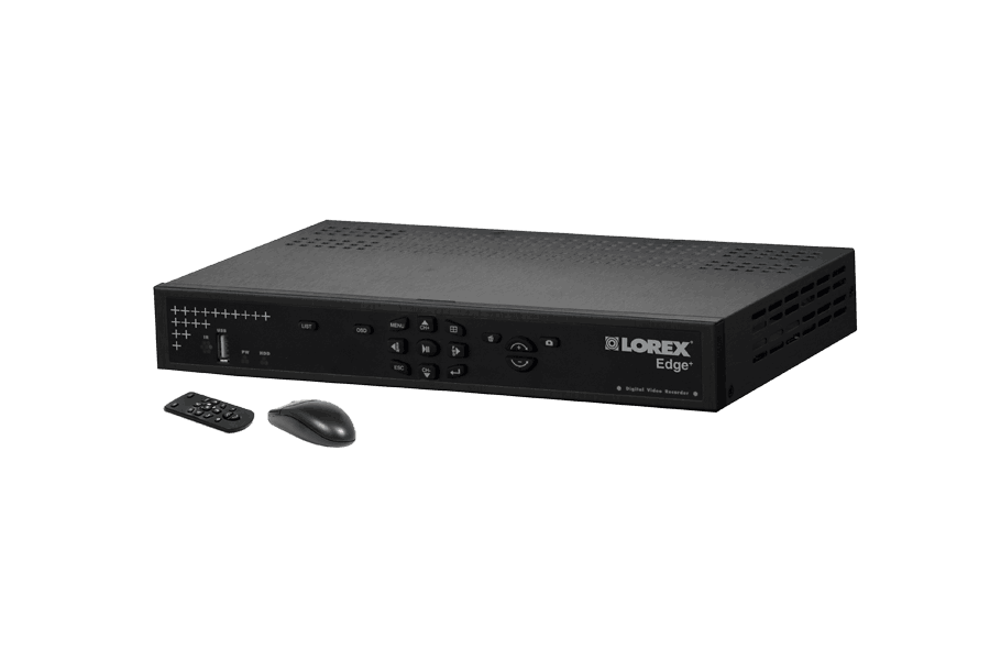 Outside camera security system Edge+ 16 channel series