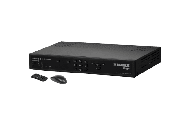 8 channel security DVR with H.264 compression and remote viewing