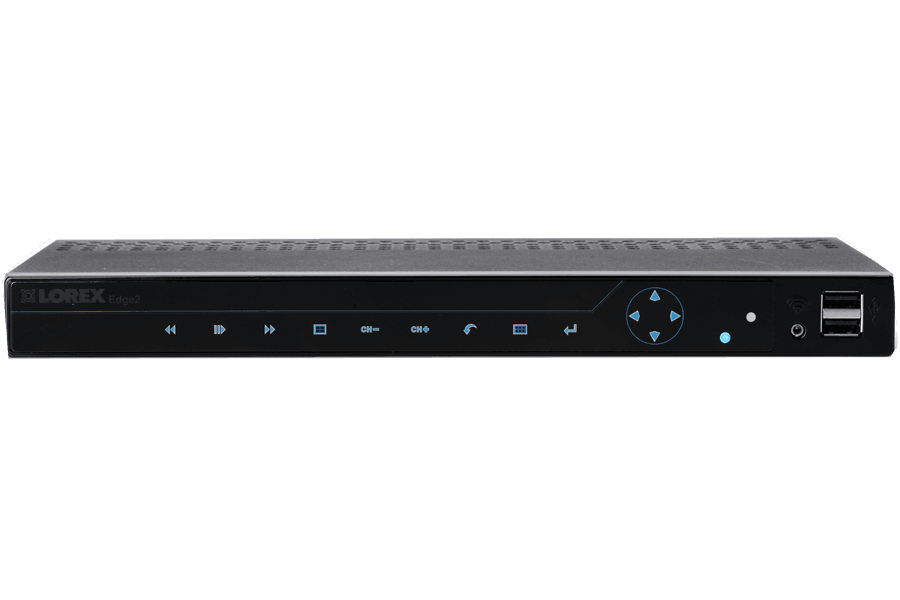 Surveillance DVR with security camera Edge2 8 channel series