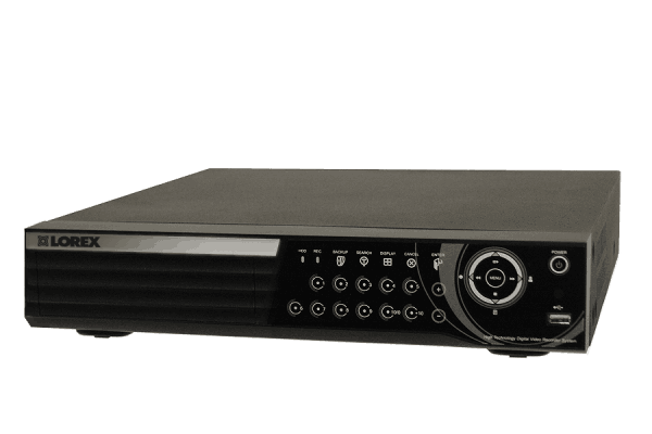 Network security DVR 16 channel with 500GB hard drive