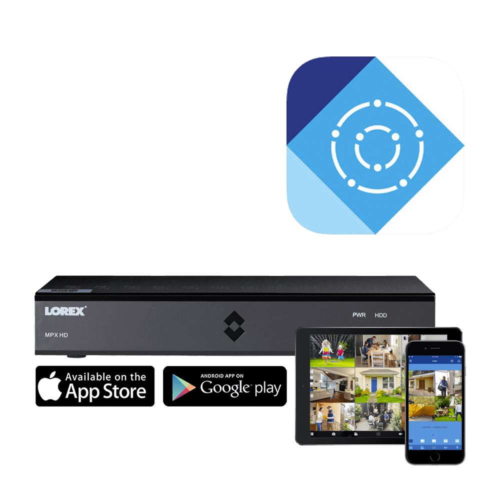 Hd Security Camera System With Eight 1080p Bullet And Four Dome Wiring Options Lorex Cirrus Keeps You Connected