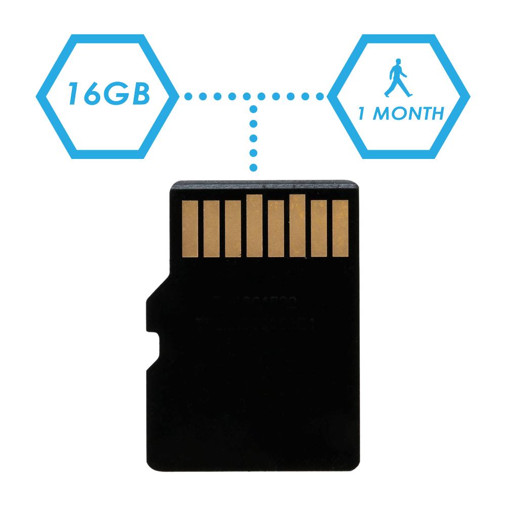 16GB microSD